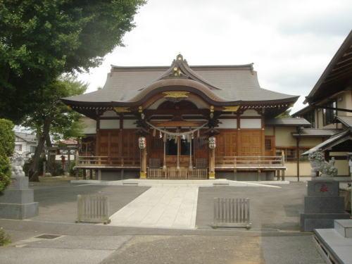千葉市 子守神社 拝殿
