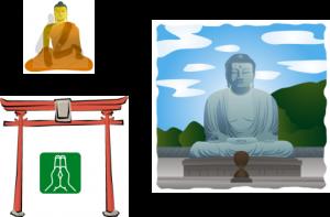 神仏習合イメージ