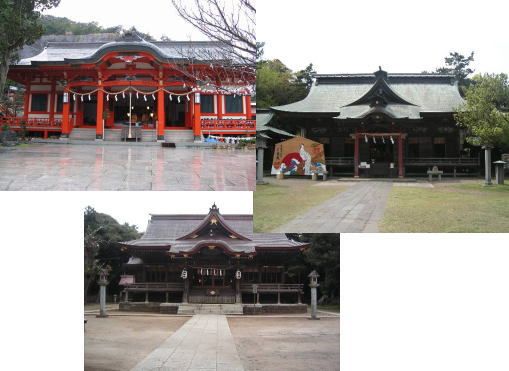 身体健全の神社