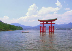 厳島神社 大鳥